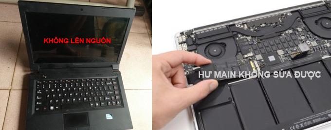 Thu mua Macbook hỏng – cũ hư Main – Bể vỏ – Tận Nơi
