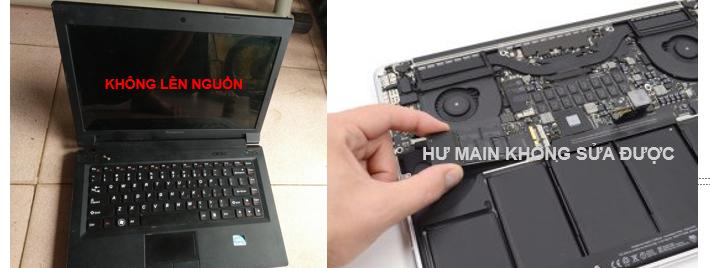 Thu mua Macbook hỏng hư Main